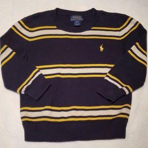 Boys Striped POLO Sweater